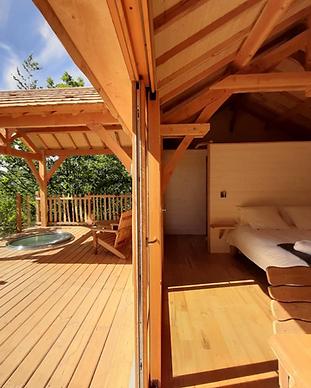 MY HOTEL CHIC - boutique hotels et maisons d'hôtes design, intimistes et trendy - Les Cabanes du hérisson - Jura - Bonlieu
