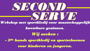 Handbal Tongeren steunt Second Serve
