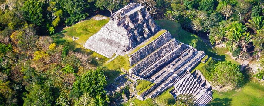 Belize Yoga - Maya Ruins