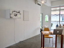 Sieving Sound and Light #1 & #2 (installation view)