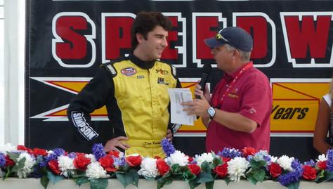 NASCAR Whelen All American Series. Pole Winner at South Boston Speedway, Virginia