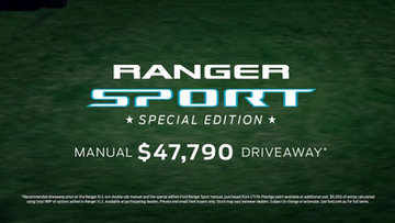 Ford Ranger Sport TVC: Precision Driver, Dane Rudolph