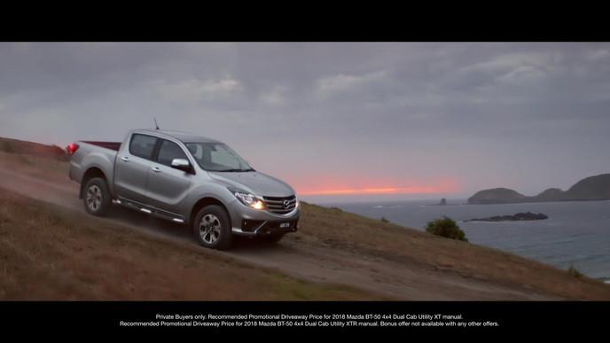 Mazda: A Million Reasons TVC. Precision Driver, Dane Rudolph
