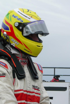 NASCAR test day at Orange County Speedway, North Carolina