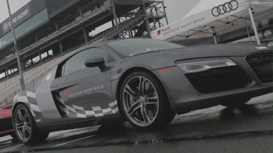 Audi Sports Car Experience hot lap at Sonoma Raceway