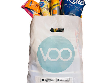 VOO Egypt's fast growing convenience store is now using Biodegradable Plastic Bags.
