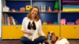 social learning, pup up, dogs, autism