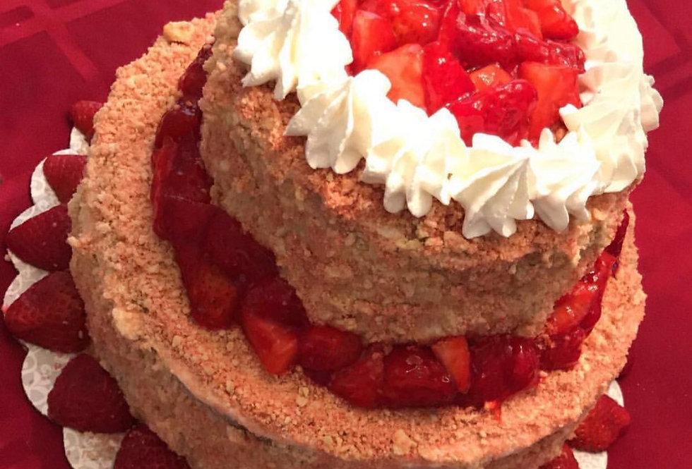 Supreme Crunch Tier Cheesecake