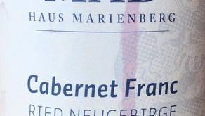Weingut MAD - Haus Marienberg Cabernet Franc Ried Neugebirge 2016