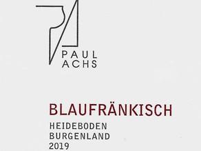 Paul Achs Blaufränkisch Heideboden 2019