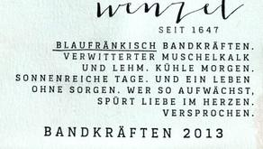 Wenzel Blaufränkisch Ried Bandkräften 2013
