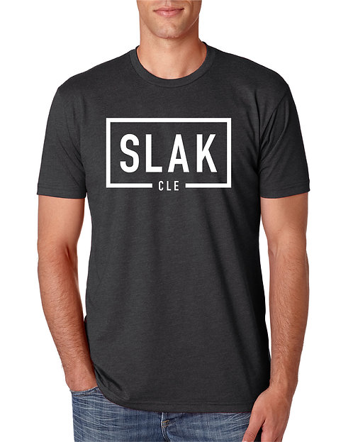 "Men's ""Classic Slak CLE"" Crew T-Shirt LIGHT GRAY"