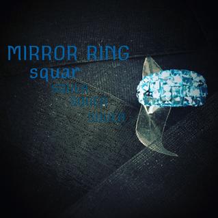 新作 MIRROR RING