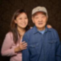Pak Hup Tom & caregiver