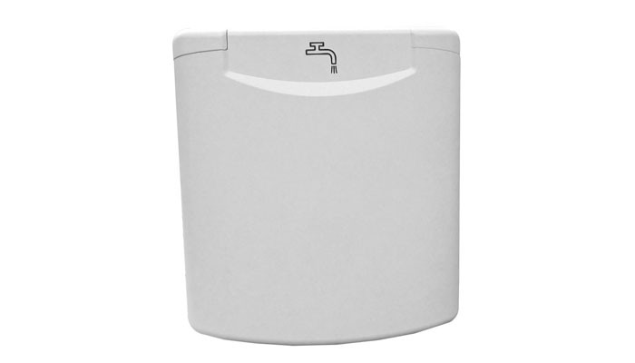 Water inlet cover
