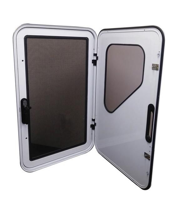 Trailer size screen & door