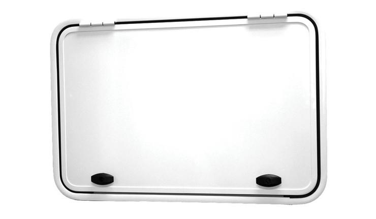 600x900mm top hinge, 2 locks gas struts