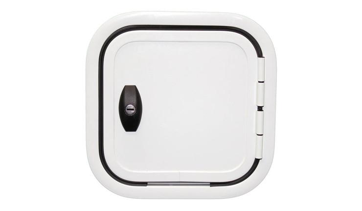 300x300mm right hinge, 1 lock