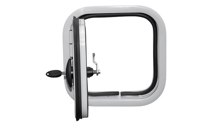 300x300mm left hinge