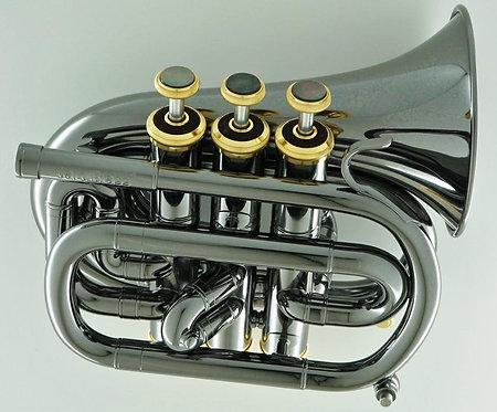 CarolBrass Mini Blackhawk Pocket Trumpet