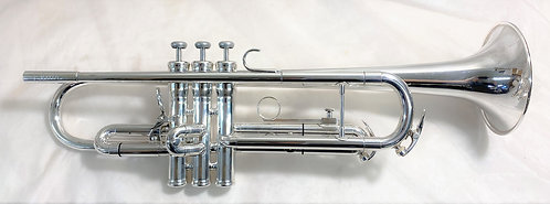 King 1055T Silver Flair Bb Trumpet