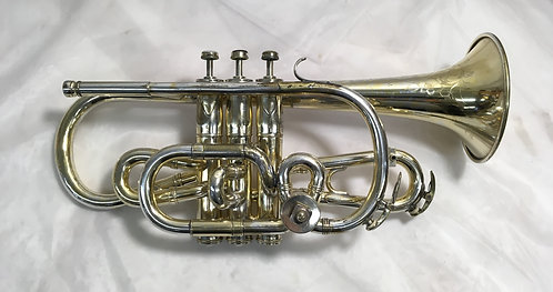 Couturier Gold Plated Bb/A Cornet