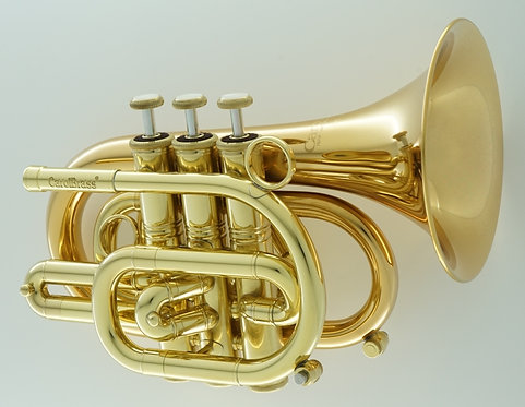 CarolBrass CPT-3000-GLS Pocket Bb Trumpet