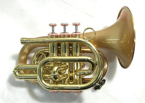 """CarolBrass CPT-3002-RLM(D) """"Arturo Sandoval"""" Bb Pocket Trumpet"""
