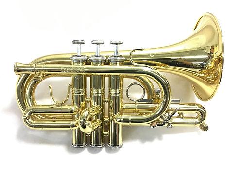 CarolBrass CPT-4000-YLS Pocket C Trumpet