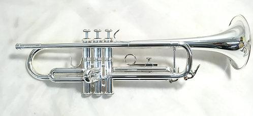 CarolBrass CTR-2000H-YSS Silver Bb Trumpet