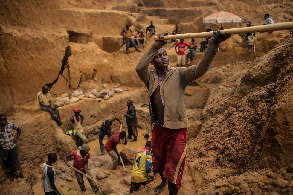 blood diamond mining