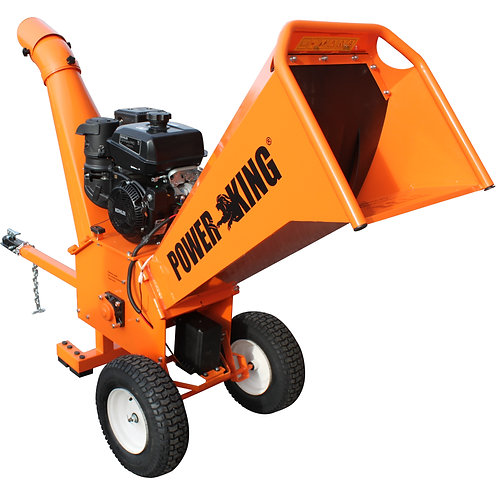 "5"" 14HP Gas Powered Chipper w/ Electric Start"