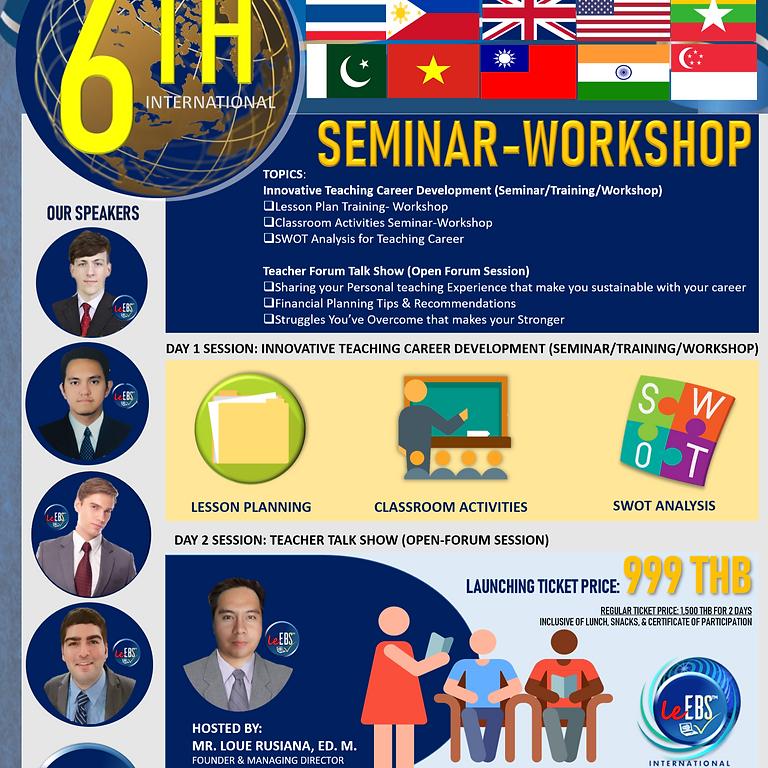 LeEBS 6th International EFL Teachers Seminar-Workshop