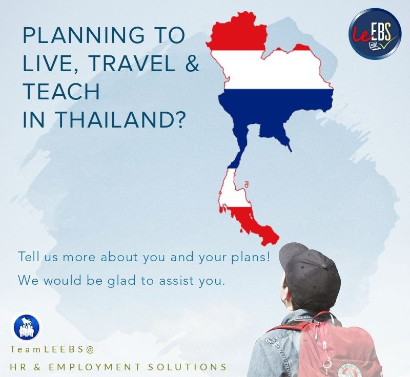 Travel, Live and Teach in Thailand