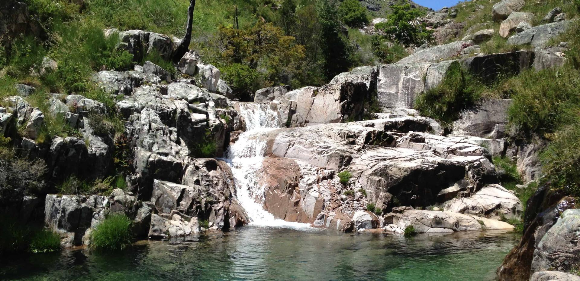 waterfall geres