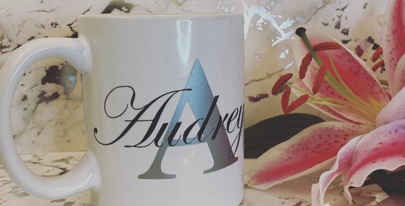 Personalised Name and Initial Mug