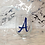 Thumbnail: Personalised Initial Glass/Wine Glass