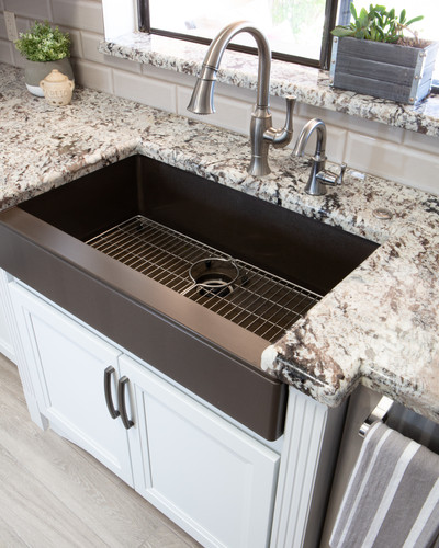 Fabulously Functional Farm Sink and Faucet