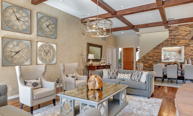 Accessible and Elegant Living Room