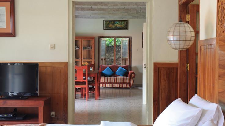 Villa view from master bedroom