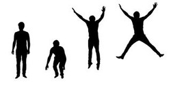 set-vector-silhouettes-jumping-young-man
