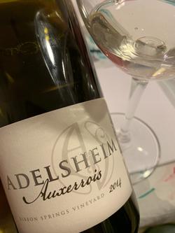Adelsheim 'Ribbon Springs Vineyard' Auxerrois 2014