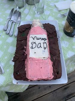 Vintage Dad Cake