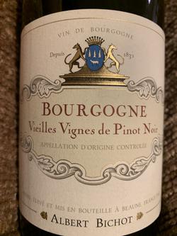 Albert Bichot Bourgogne 'Vielles Vignes' Pinot Noir 2016
