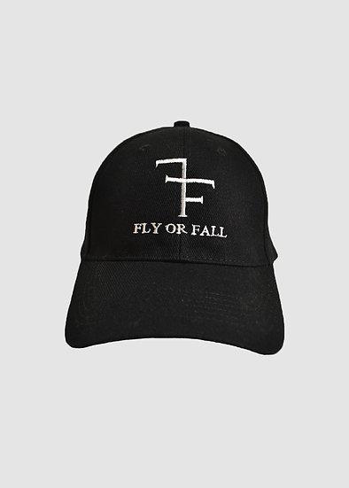 VELCRO HAT - BLACK