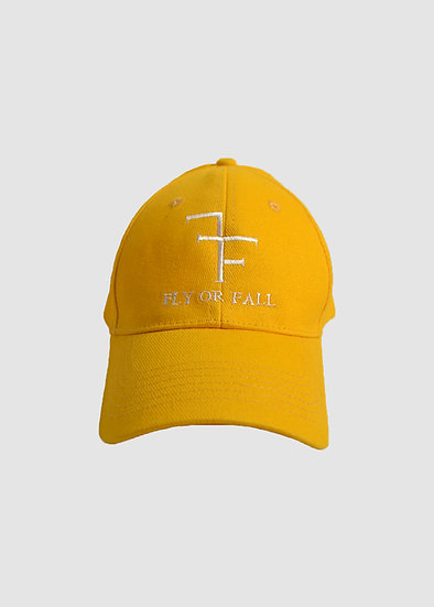 VELCRO HAT - GOLD