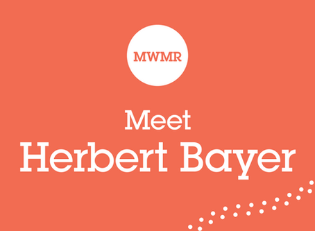 Why do we love Herbert Bayer's Simplicity?