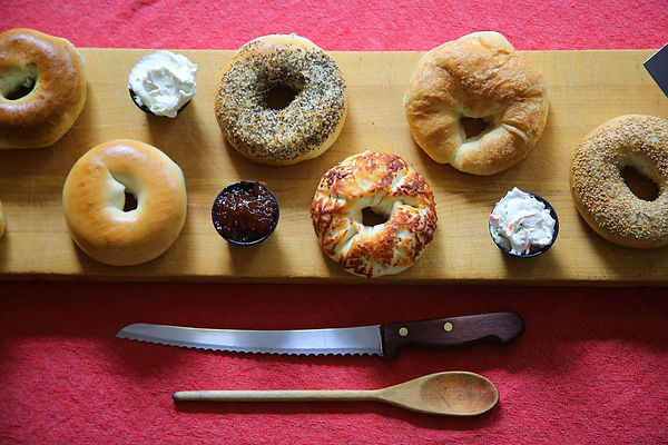Bagels, breakfast