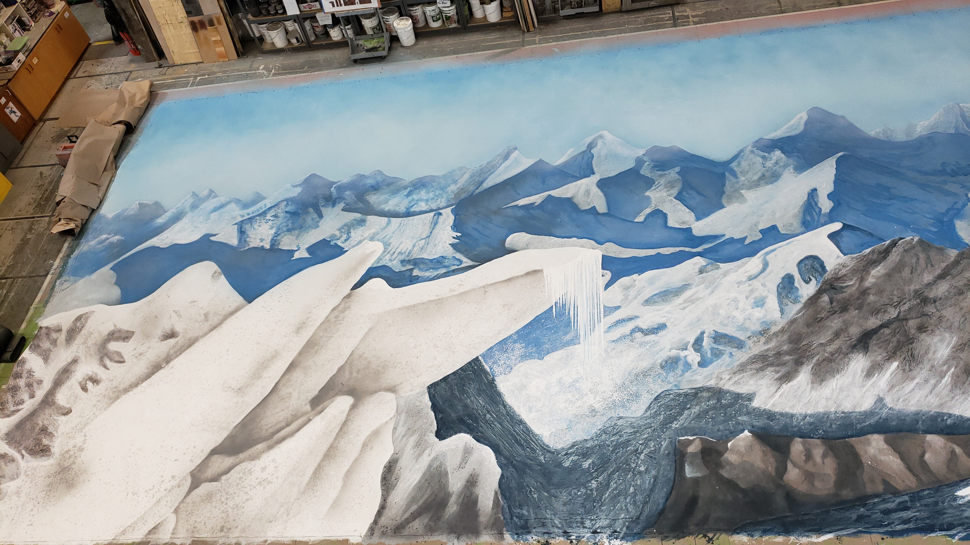 Mountain Backdrop 52' x 24'
