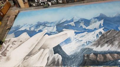 Mountain Backdrop 52' x 24'